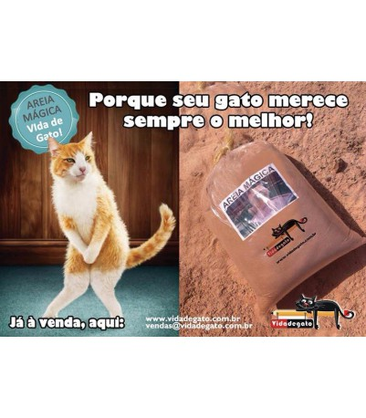 Areia Magica - Vida de Gato
